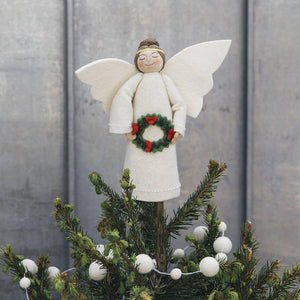Yuletide Gift Angel Tree Topper