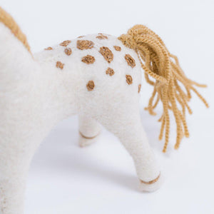 Wild and Free Stallion Ornament