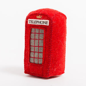 London Calling Phone Booth Ornament