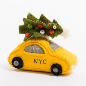 Holiday Taxi Ornament