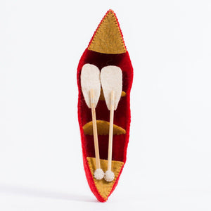 Riverbend Canoe - Red