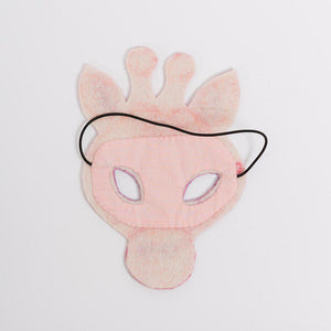 Serengeti Blush Giraffe Mask