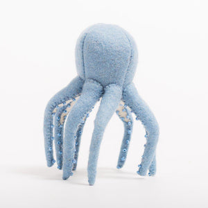 Light Blue Octopus Ornament