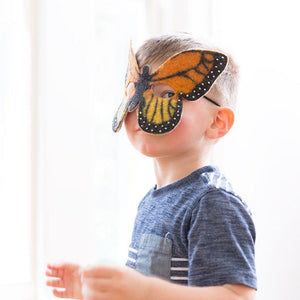 Gentle Wonder Monarch Butterfly Mask