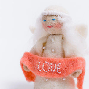 Season's Blessing Angel - Love