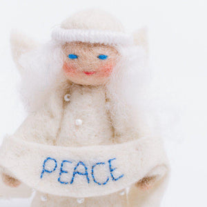 Season's Blessing Angel - Peace