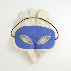 White Shen Peacock Mask