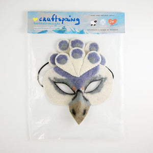 Shen Peacock Mask - White
