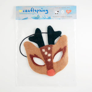 Forest Beauty Reindeer Mask