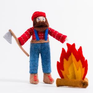 Plaid's Pride Lumberjack Ornament