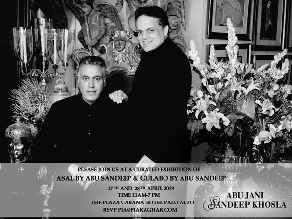 Join Us At A Curated Exhibition of Asal by Abu Sandeep and Gulabo by Abu Sandeep