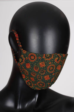 Reversible Ajrak Mask