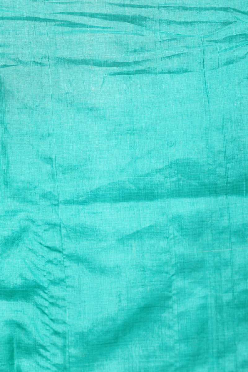 Green Tussar Saree