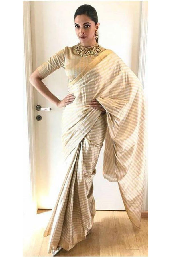 Deepika Chanderi saree