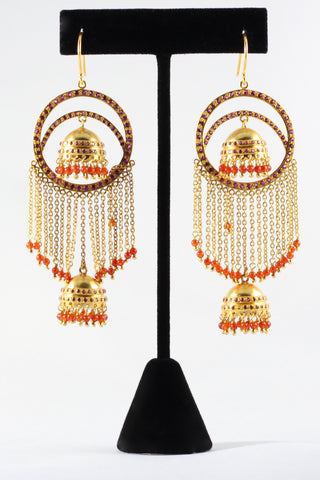 Amrapali Carnellion Earrings