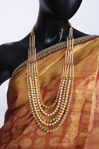 Amrapali Silver Gold Plated Necklace