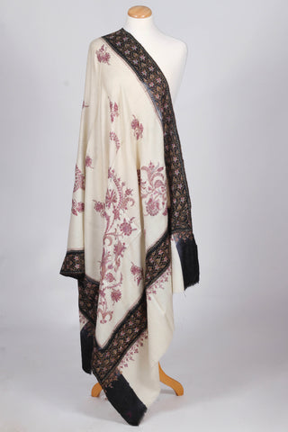 Off white pashmina shawl
