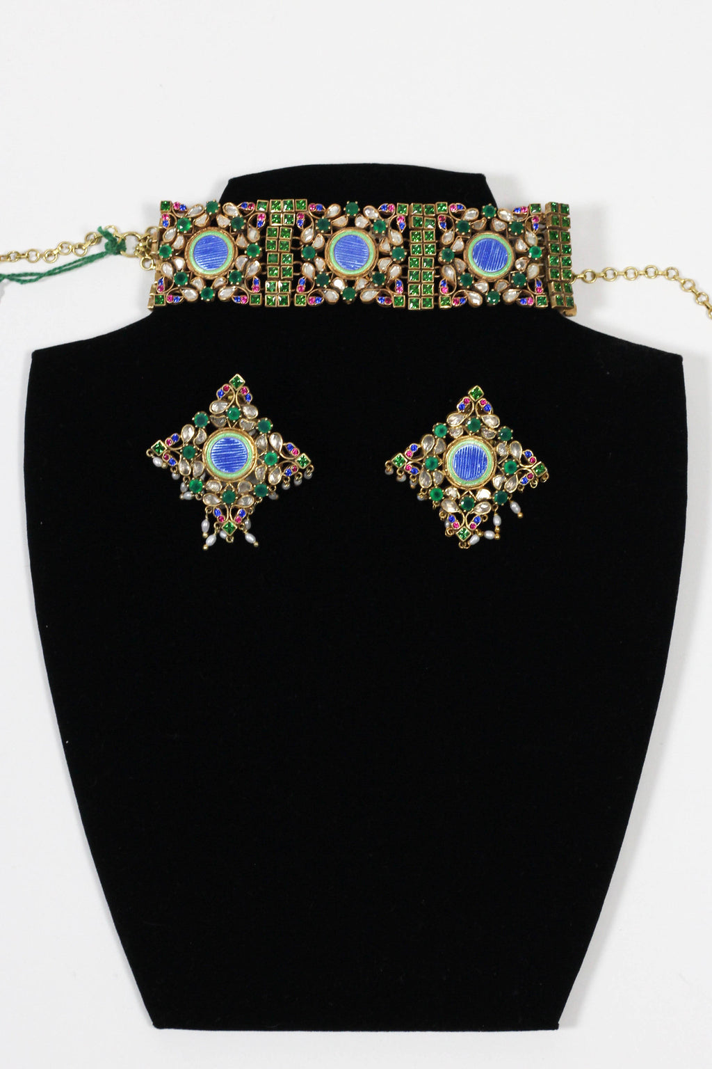 The Countess Amrapali collar set