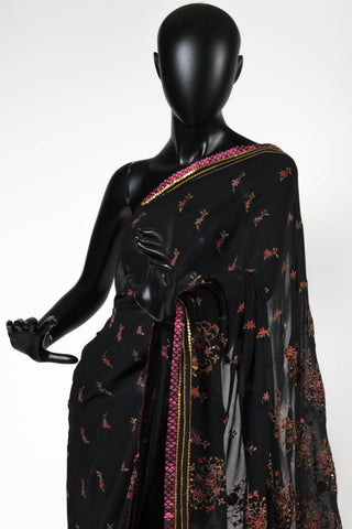 Black beauty saree