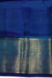 Blue Short color kanchipuram saree