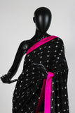 Masaba Half and Half Stripe Saree