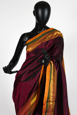 Autumn Kanchipuram Saree