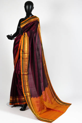 Autumn Kanjiveram Saree