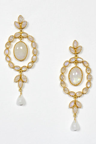 Amrapali Moon Stone Earrings