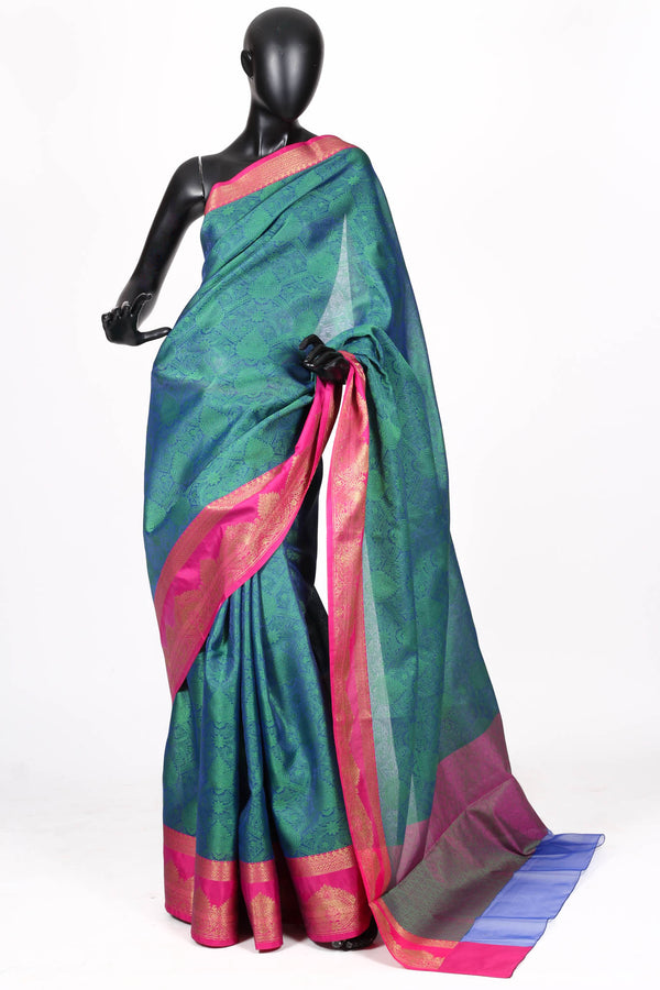 Art silk benarasi saree