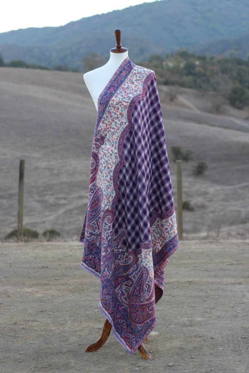 Multicolor Kani Wool Shawl