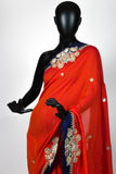 The Amber saree