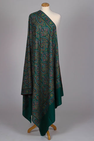 Authentic Green Pashmina Shawl