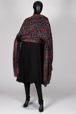 Black kani shawl