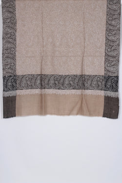 Natural Color Pashmina Shawl