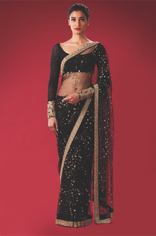 Starry Nights Saree