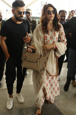 Anushka Sharma Printed Suit