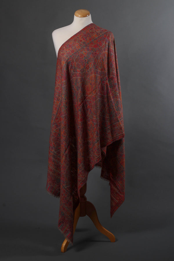 Natural Color Kani Wool Stole