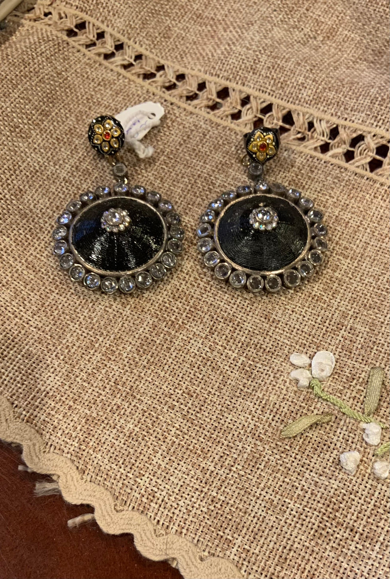 Cubic Zircon Amrapali Earrings