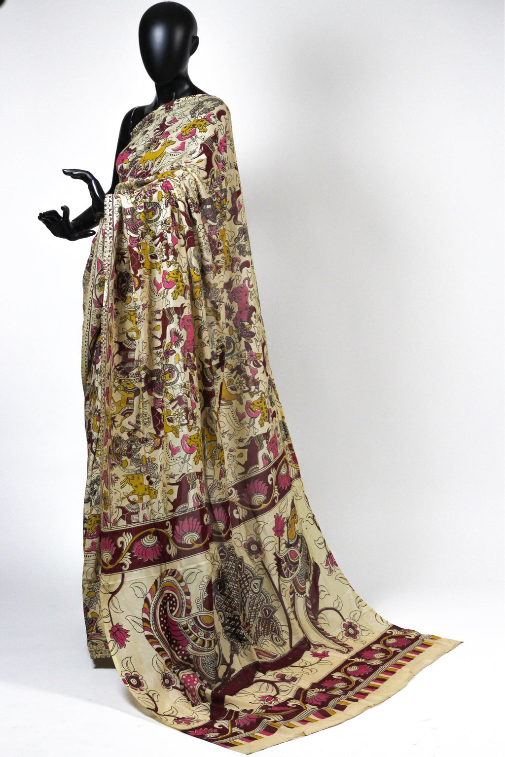 The Madhubani saree