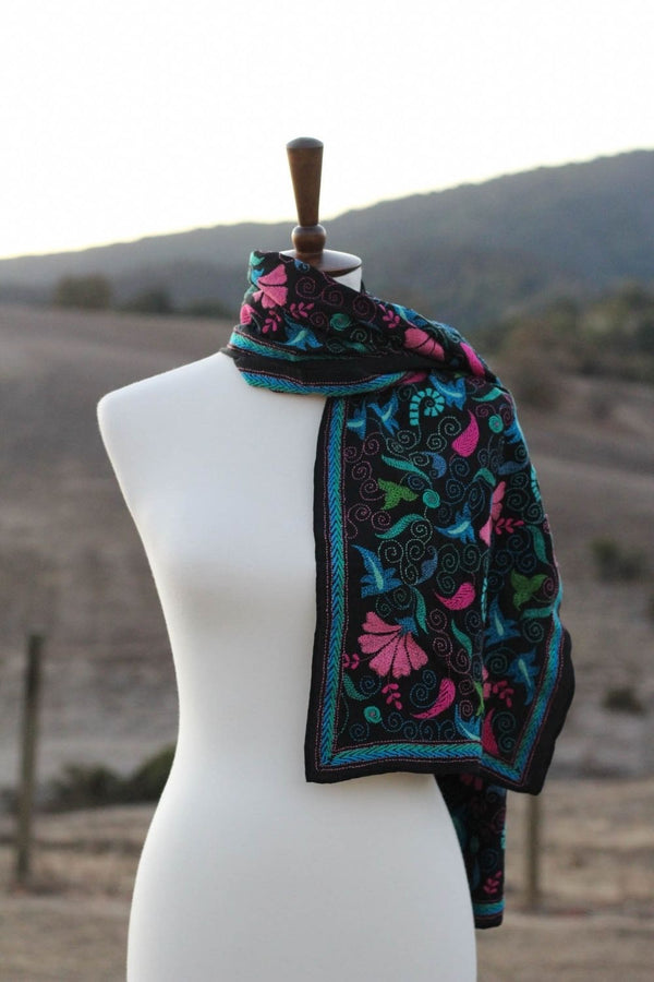 The Hypnotic Kantha Scarf