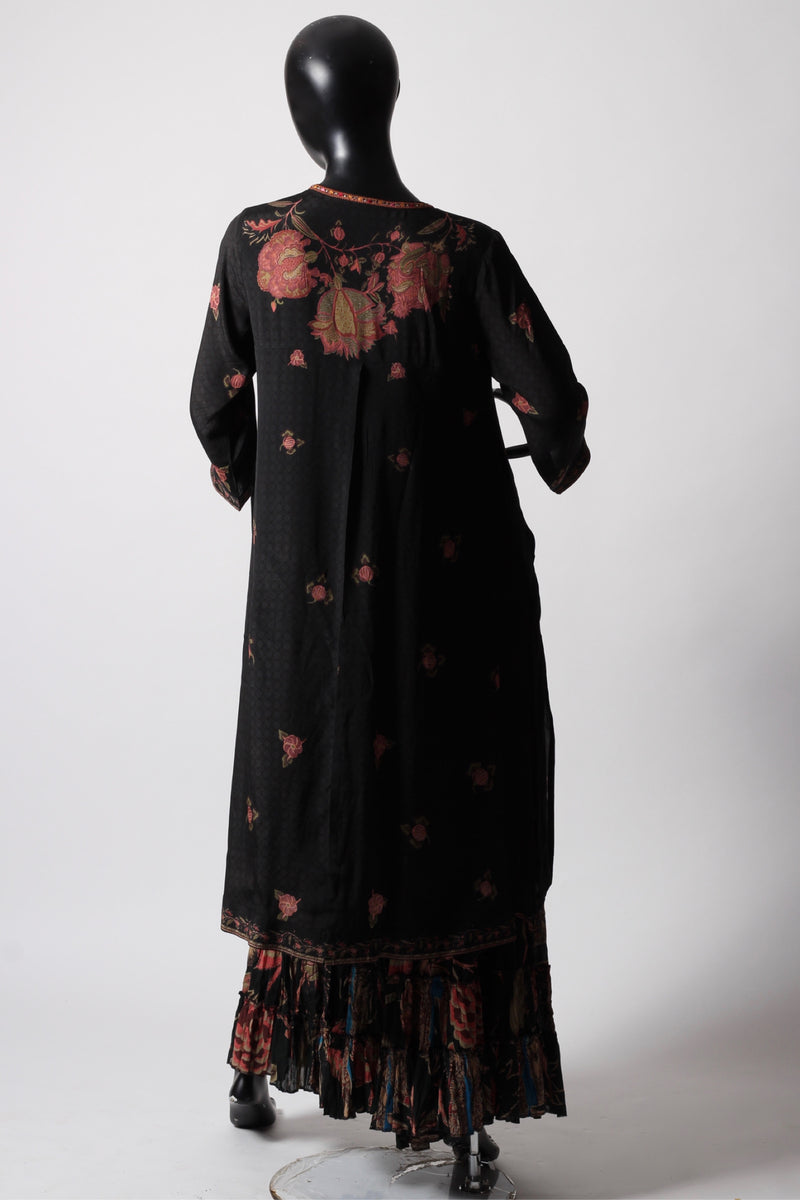 Ritu Kumar Black Kurta Set