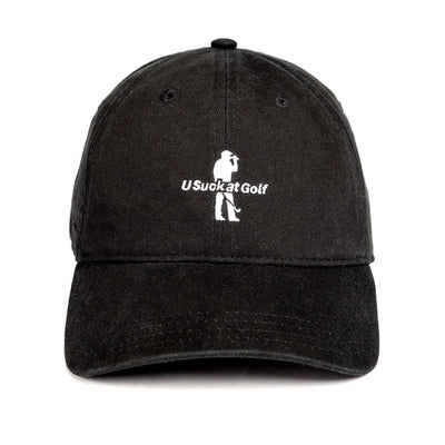 U Suck at Golf Dad Hat