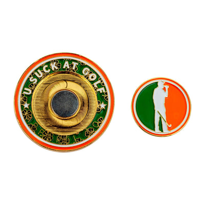 Luck of the Irish Pocket Coin & Ball Marker
