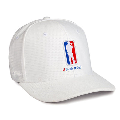 Amateur Golf Tour Hat (White)