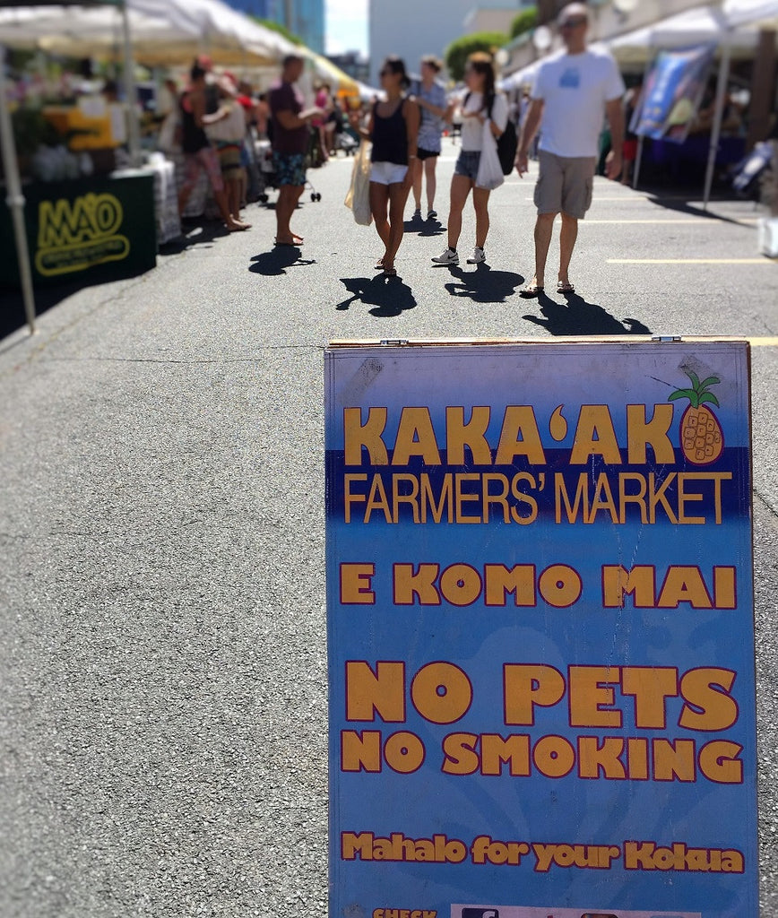 Eat Healthy, Support Local at Kaka'ako Farmers' Market