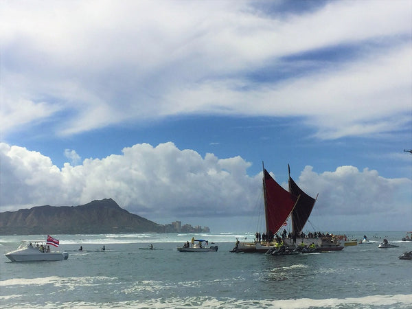 Hōkūle'a - A Tiny Canoe's Mighty Mission for Island Earth