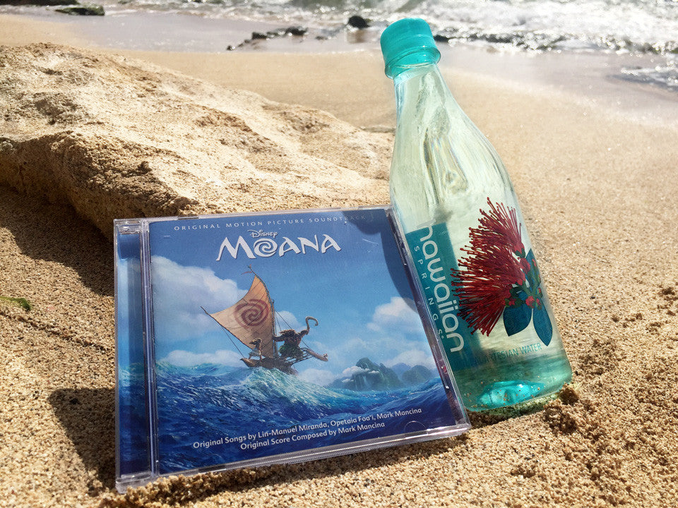 Disney Moana Soundtrack + Hawaiian Springs Giveaway!