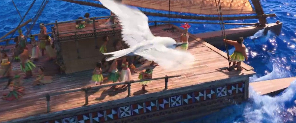 Sneak peak of Disney's Moana