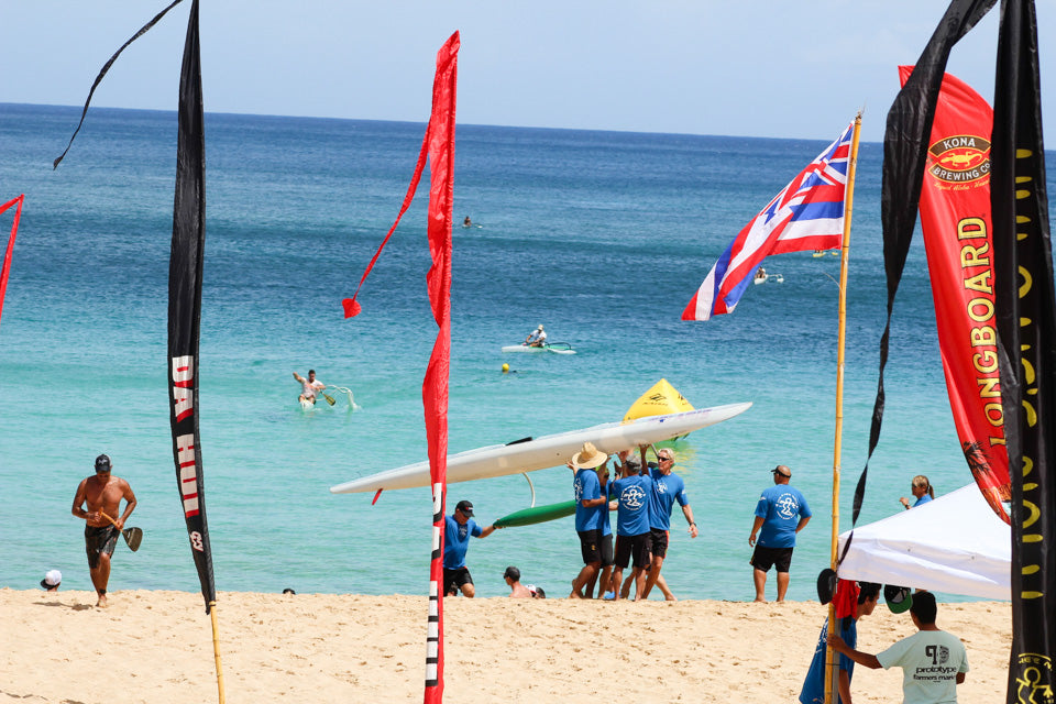 Da Hui Paddle Race Hawaiian Springs