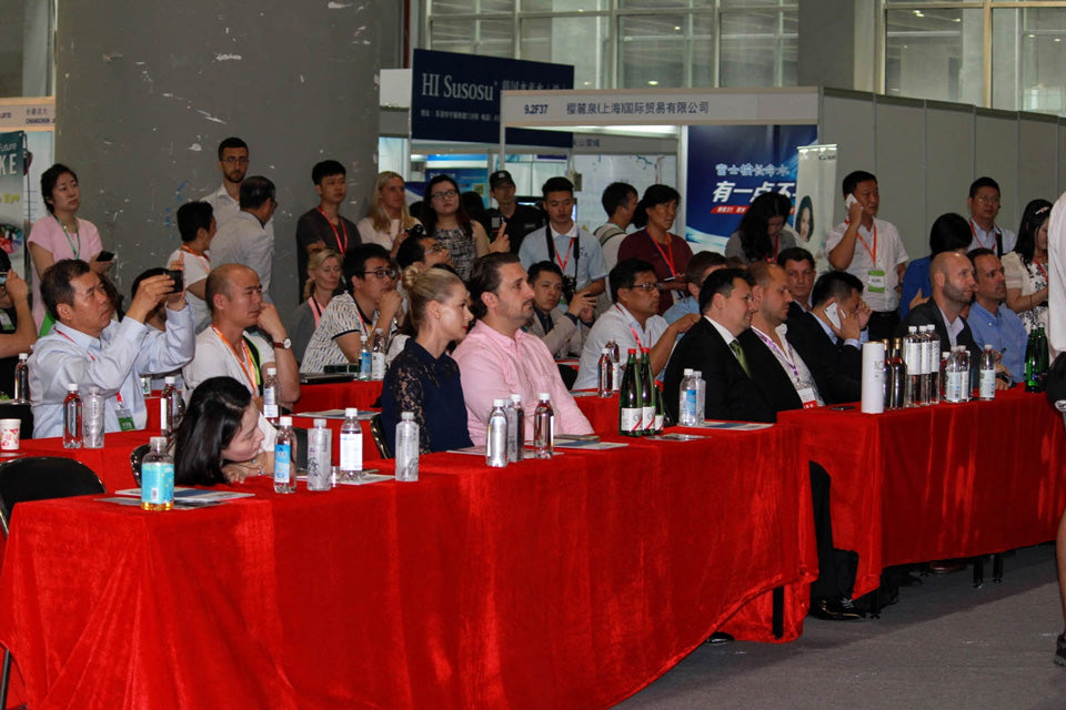 Fine Water Expo at Guangzhou July 1st 2016